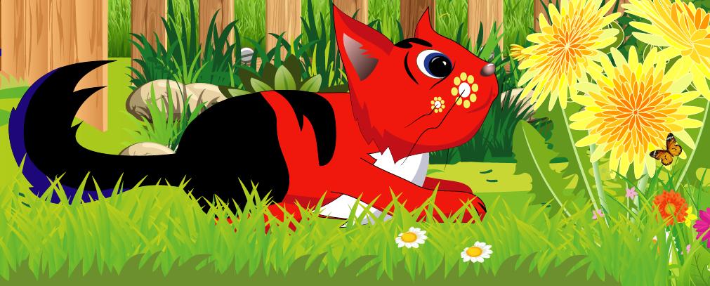Lissy im Kinderbuch Kleines Kätzchen LIssy