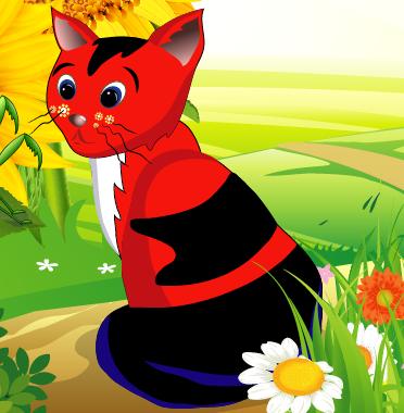 Lissy aus dem Kinderbuch - Kleines Kätzchen Lissy